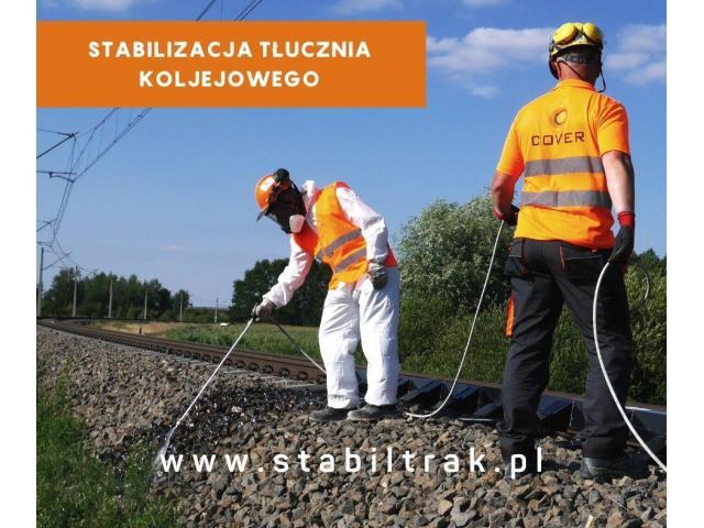 Stabilizacja tłucznia kolejowego