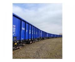 Wagony typu węglarki 437W Eamos - stan bardzo dobry, mały przebieg